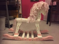 Wooden Rocking Horse Laurel, 20707