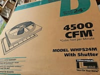 Master Flow WHFS24M 4500 CFM 24 in. Direct Drive W Woodstock, 22664