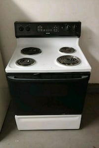 white and black electric coil range oven Summerville, 29483