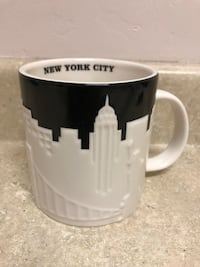 Starbucks New York City Skyline Relief Collectors Series 2012 Coffee Mug Mint Condition Rio Rancho, 87144