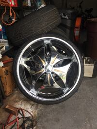 "22"" rims good condition  Tampa, 33605"