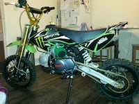 black, green, and gray pit bike West Yorkshire, BD8 0NL
