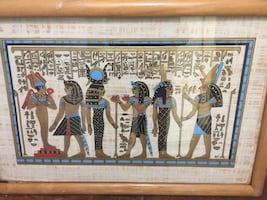 Egyptian picture frames