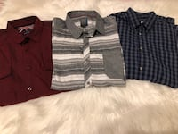3 men's dress shirts for $15 570 km