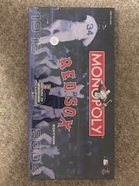 Boston Red Sox 2004 World Series Champs Monopoly- Brand New Sealed Ashland, 01721