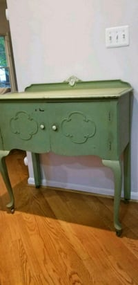 Antique cabinet / petite buffet or entry table  Burke