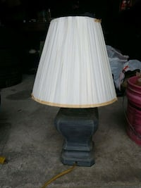 white and brown table lamp Shrewsbury, 01545