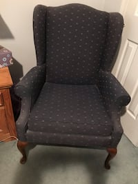 Blue and gold wing chairs. Excellent condition   Leominster, 01453