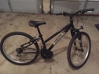 black and white hardtail mountain bike Vaughan, L4J 8B4
