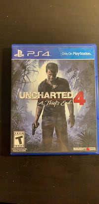 PS4 uncharted 4 Fremont, 94555