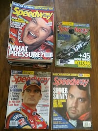 Collection of 'Speedway Illustrated' Magazines Indianapolis, 46201