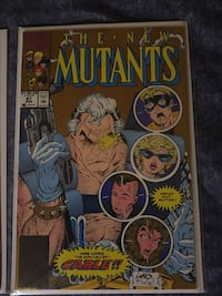 Hot key issue comics first appearance of Cable Mission, V2V 1P9