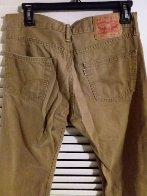 Levi's W30 L32 Brown Tan Khaki Pants Levi Strauss  3