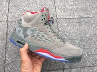 Mens Jordan's 5 Retro P51 Camo paid $195 Size 13 Great condition!  Washington, 20002