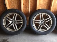 Michelin x ice studless  winter tires. literally brand new! set of 4 tires and rims. Grand Chute, 54913