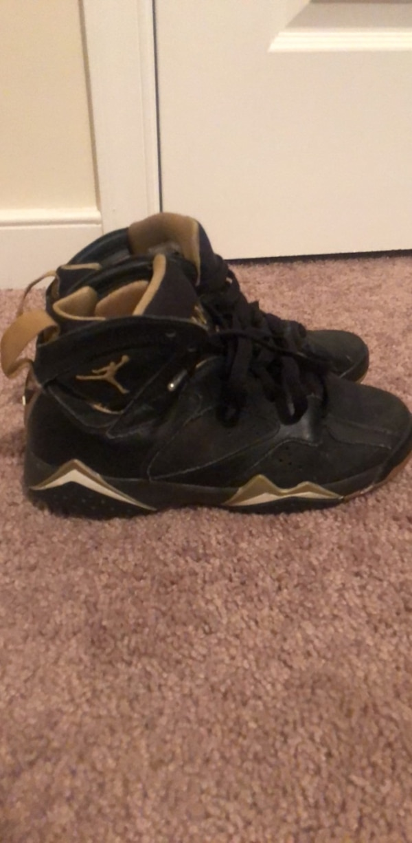 new products 80eab 21504 Air jordan 7 Golden moments size 3.5Y