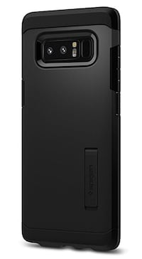 Spigen Tough Armor Galaxy Note 8 Case with Kickstand and Extreme Heavy Duty Protection and Air Cushion Technology for Galaxy Note 8 (2017) - Black Smyrna, 37167