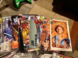 Large Comic Book Collection - Star Wars