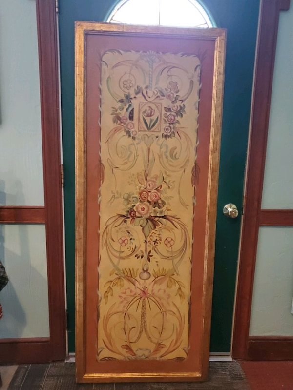 Hand Painted Decorative Victorian Wall Painting 69cd17a7-79c5-4f45-a62b-74f214424203