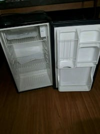 two white and black compact refrigerators Bridgeport, 06604