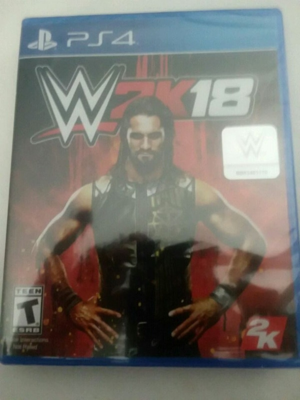 Ps4 game W2K18 (never opened)