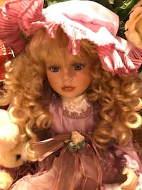 Gorgeous Porcelain Doll with long Beautiful curls Gainesville, 20155