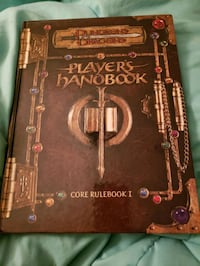 Dungeons and dragons 3.5 players handbook cover book  Tewksbury, 01876