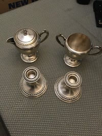 stainless steel candle holders