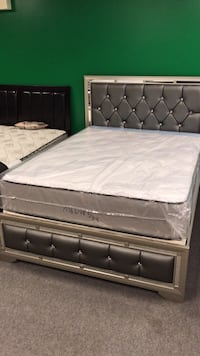Orthopedic Memory Foam Queen Size Mattress And Boxspring, Great For Your Back Worcester, 01601