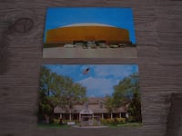 San Angelo Coliseum & Fort Concho Museum Postcards - $5 FOR BOTH San Angelo