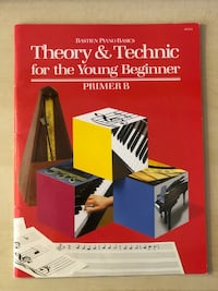 Brand New: Piano Theory and Technic for the Young Beginner (Primer B) Manassas