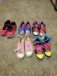 Girls assorted shoes Midwest City, 73130