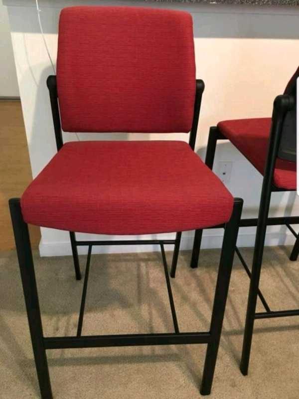 Used Red Bar Stool Chair For Sale In Union City Letgo