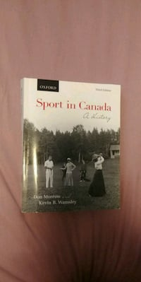 Oxford Sport in Canada A History book by Morrow and Wamsley Thorold, L2V 4Y6