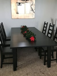 IKEA Stornas extendable table with 6 IKEA chairs Scottsdale, 85251