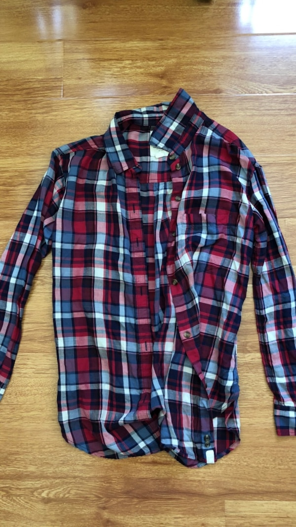 468b9886c08 Used Womens American Eagle plaid shirt for sale in San Jose - letgo