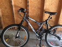 Grey hardtail mountain bike London, N5V
