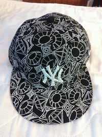 NYY Hat with Gem Stones