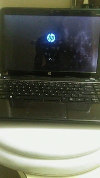 black and gray HP laptop Grand Rapids, 49507