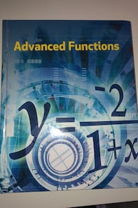Nelson Grade 12 Advanced Functions Textbook Toronto, M3H 2M8
