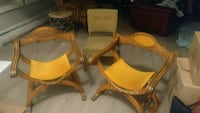 Wood Vintage chairs  Vaughan, L6A 2V5