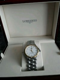 Longines Hydro Conquest Gold plated selges rimelig