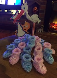 Handmade Baby Booty Favours!