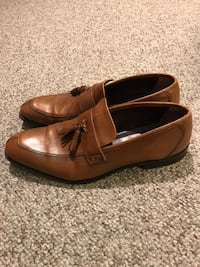 Johnston & Murphy size 12 brown dress shoes Baltimore, 21209