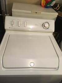 White top-load clothes washer Edmonton, T5A