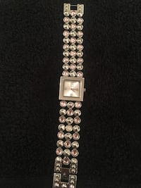 square silver analog watch with link bracelet Las Vegas, 89130