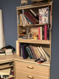 Dresser, bookcase, set in one  Olney