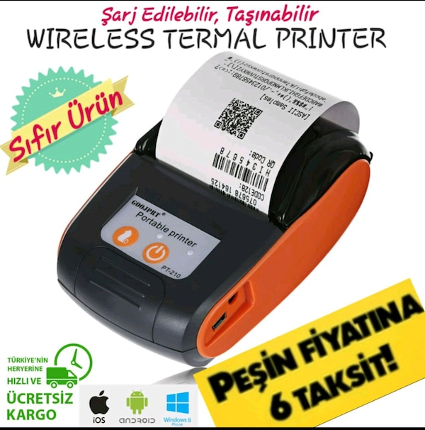 GOOJPRT PT-210 WIRELESS TERMAL YAZICI 0