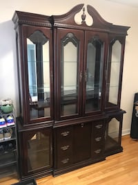 Hardwood Cabinet Made in Canada 1997, in Excellent Condition Ottawa, K1Z 6H7