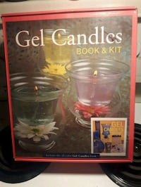 Gel candle kit *new and retail is 59.95 can Edmonton, T5G 2N2